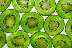 Kiwi fruit. Beautiful kiwi fruit slices background Stock Image