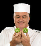 Kiwi fruit Chef Royalty Free Stock Photos