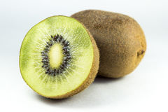 Kiwi Fruit. Close up on a kiwi fruit Stock Photos