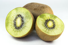 Kiwi Fruit. Close up on a kiwi fruit Royalty Free Stock Photos