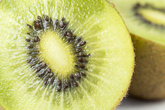 Kiwi Fruit. Close up on a kiwi fruit Royalty Free Stock Images
