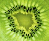 Kiwi Fruit Closeup Foto de archivo libre de regalías