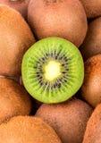 Kiwi Fruit Closeup Fotografia Stock Libera da Diritti