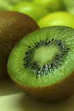 Kiwi Fruit Closeup Foto de Stock