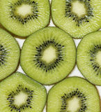 Kiwi Fruit con fondo bianco Immagine Stock
