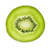 Kiwi fruit cross section Royalty Free Stock Images