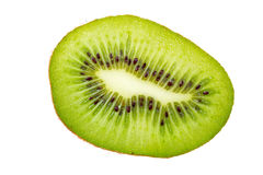 Kiwi fruit cross section. Royalty Free Stock Images