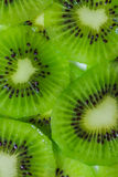 Kiwi fruit cut ​​into pieces. Royalty Free Stock Image