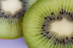 Kiwi fruit detail Stock Image