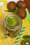 Kiwi Fruit Drink Immagini Stock