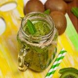 Kiwi Fruit Drink Immagini Stock Libere da Diritti