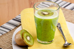 Kiwi Fruit Drink Stock Image