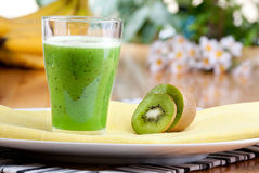 Kiwi Fruit Drink Royalty Free Stock Photo
