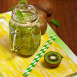 Kiwi Fruit Drink Royalty Free Stock Images