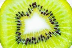 Kiwi fruit. Fresh kiwi fruit slice, macro background Stock Image