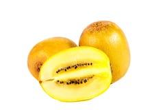 Kiwi fruit, gold kiwi Royalty Free Stock Images