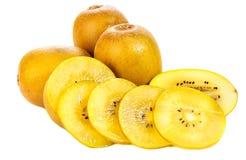 Kiwi fruit, gold kiwi Stock Photos