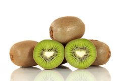 Kiwi Fruit Group Fotografia de Stock