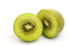 Kiwi fruit halves Stock Photography