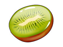 Kiwi fruit hard candy Royalty Free Stock Photography