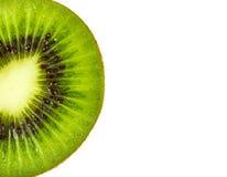 Kiwi fruit inside with seeds Stock Photography