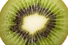 Kiwi fruit inside with seeds Royalty Free Stock Image