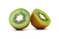 Kiwi Fruit Into Halves Royalty Free Stock Photo