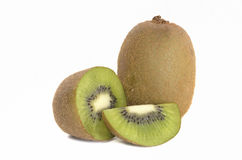 Kiwi fruit in isolate white background Royalty Free Stock Image