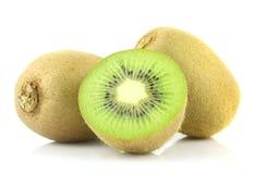 Kiwi fruit isolated. On white background Royalty Free Stock Photography
