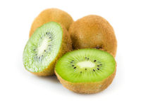 Kiwi fruit isolated Royalty Free Stock Photo