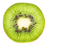 Kiwi fruit isolated Stock Images