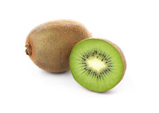 Kiwi fruit isolated on white Stock Photo