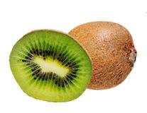 Kiwi fruit. Kiwi fruit  isolated on white Royalty Free Stock Image