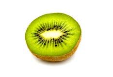 Kiwi fruit isolated on white background. Kiwi fruit, sliced  Liying on white background. Isolated Royalty Free Stock Photos