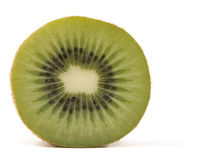 Kiwi fruit isolated on white background. Royalty Free Stock Photo