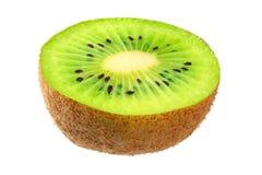 kiwi fruit isolated on a white background stock photos