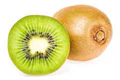 Kiwi fruit isolated Royalty Free Stock Images