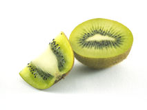 Kiwi fruit isolated. On white background Stock Images