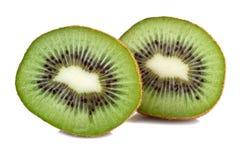 Kiwi Fruit Isolated on White Royalty Free Stock Photos