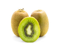 Kiwi fruit isolated Stock Image