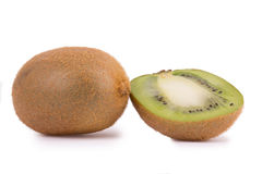 Kiwi fruit isolated on white background.  Stock Photography