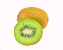 Kiwi fruit. Isolated on white background Stock Photo