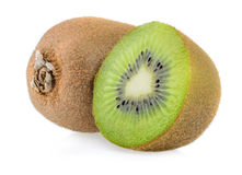 Kiwi fruit isolated Stock Photography