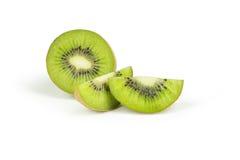 Kiwi fruit isolated on white background. Royalty Free Stock Photos