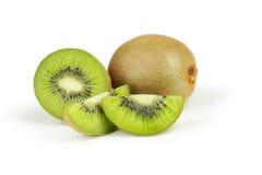 Kiwi fruit isolated on white background. Stock Images