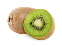 Kiwi fruit isolated Royalty Free Stock Image