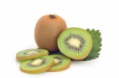 Kiwi fruit isolated on white background. Kiwi fruit isolated on white Royalty Free Stock Photos