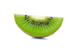 Kiwi fruit isolated on the white background Stock Photo