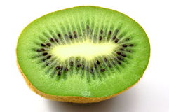 Kiwi fruit isolated on white background Stock Images