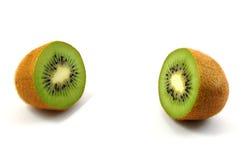 Kiwi fruit isolated on white background Stock Photos
